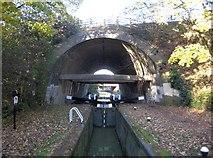 SP7257 : Grand Union Canal (Northampton Arm): M1 Motorway Bridge by Nigel Cox