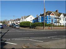 TQ1602 : Blue house, blue sky by Dave Spicer