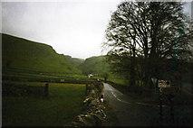 SK1482 : Arthurs Way, looking towards Winnats Pass, Castleton  by Phil Champion