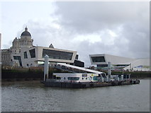 SJ3390 : Liverpool ferry terminal by Malc McDonald