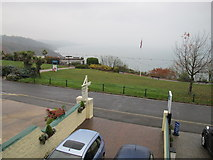 SX9265 : Babbacombe Downs - view from guesthouse by David Hawgood