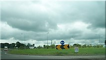 N6680 : Roundabout on the N3 at Derver by Eric Jones