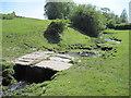 SD4791 : Bridging  Tanyard  Beck by Martin Dawes