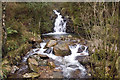 NY1214 : Waterfall Smithy Beck by Tom Richardson