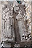 TF2935 : Effigies, Ss Peter & Paul church, Algarkirk by J.Hannan-Briggs