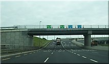 O0938 : The N3/M50 interchange in the north-western suburbs of Dublin by Eric Jones