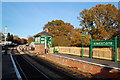 TQ3635 : Kingscote Station and signal box by Trevor Harris