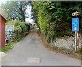 SO1533 : Width limit 40 yards ahead, Heol Las, Talgarth by Jaggery