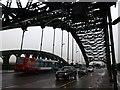 NZ3957 : Under Wearmouth Bridge by Graham Hogg