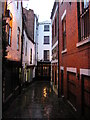 SJ4912 : Shrewsbury: Gullet Passage by Christopher Hilton