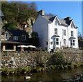 SH5948 : Riverside guesthouse, Beddgelert by Jaggery