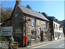 SH5848 : Beddgelert Post Office by Jaggery