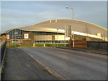 SJ8798 : Manchester Velodrome by David Dixon