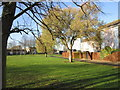TA0934 : A grassed area on Tiverton Road, Bransholme by Ian S