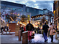 SJ8398 : Christmas Market, Exchange Square by David Dixon