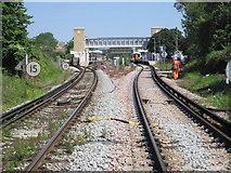 TR1458 : Canterbury West railway station, Kent by Nigel Thompson