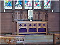 SD2475 : St Peter's Church, Lindal in Furness, Altar by Alexander P Kapp