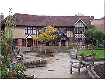 SP2055 : Shakespeare's Gift Shop by Len Williams