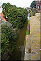 SJ4066 : Chester: view down to the canal at Northgate by Christopher Hilton