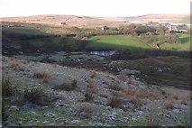 SD6715 : Winter Hill slopes by Philip Platt