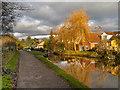 SJ9688 : Peak Forest Canal at Marple by David Dixon