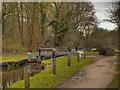 SJ9589 : Peak Forest Canal, Lock#1 by David Dixon