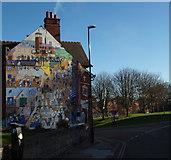 SK3536 : Derby - Full Street by David Hallam-Jones