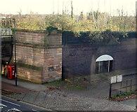SK3436 : Derby - Former Railway Line by David Hallam-Jones