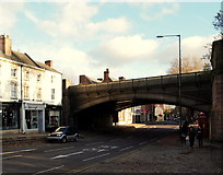 SK3436 : Derby - Friargate Bridge by David Hallam-Jones