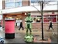 SJ9494 : Living Sculpture by Gerald England