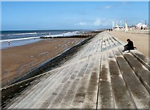 SD3143 : Cleveleys North beach by Gerald England