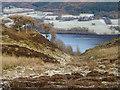 NY2127 : Stream groove descending towards Bassenthwaite Lake by Trevor Littlewood