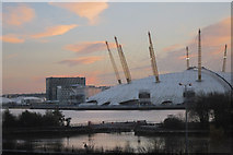 TQ3880 : O2 Arena and River Thames by Oast House Archive