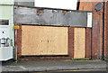 J5081 : Derelict shop, Bangor (3) by Albert Bridge