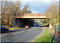 ST2994 : Henllys Way bridge over Cwmbran Drive, Cwmbran by Jaggery