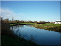 TA0832 : The riverside path along the River Hull by Ian S