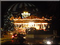 SZ0891 : Bournemouth: merry-go-round in The Square by Chris Downer