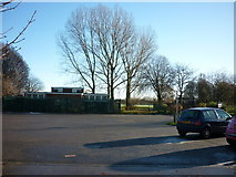 TA0832 : A car park at Oak Road playing fields by Ian S