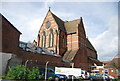 TQ5840 : Parish Church of St Barnabas by N Chadwick