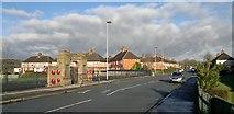 SJ9957 : War Memorial and park at Ball Haye Green by Chris Morgan