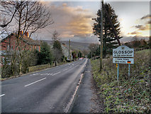 SK0395 : Glossop In The High Peak by David Dixon