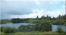 B7811 : Lake west of the N56 on the southern outskirts of Dungloe by Eric Jones