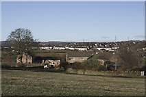 SE1926 : Lands Farm, Cleckheaton by Richard Kay