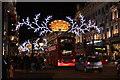 TQ2981 : Christmas Lights, Regent Street by Oast House Archive