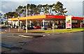 SS9082 : Sainsbury's filling station, The Derwen near Bridgend by Jaggery