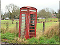 J2164 : Telephone box near Brookmount, Lisburn by Albert Bridge