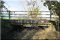 SU3891 : Brooklane Bridge from the SE bank of Childrey Brook by Roger Templeman