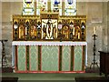 SP0634 : Altar and reredos, St. Michael's, Stanton by nick macneill