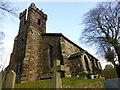 SD6837 : St John's Church, Hurst Green by Rude Health