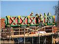 SD7506 : Working on the Meccano Bridge by David Dixon